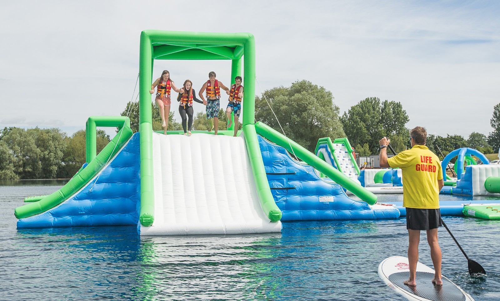 Bouncia -Professional Uk Oxford Inflatable Aqua Fun Park Made By Bouncia Supplier-37