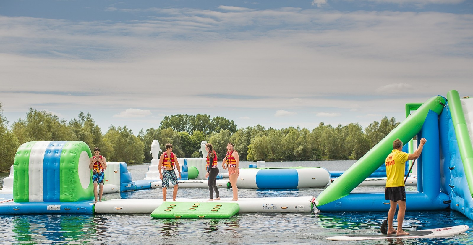 Bouncia -Professional Uk Oxford Inflatable Aqua Fun Park Made By Bouncia Supplier-38