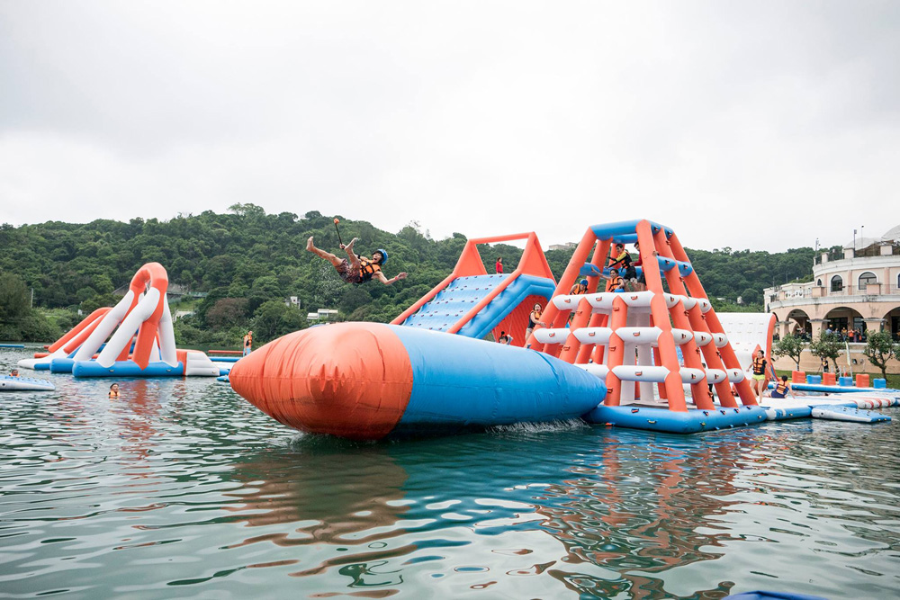 Bouncia -Find Inflatable Floating Water Obstacle Course Aqua Park Manufacturer-23