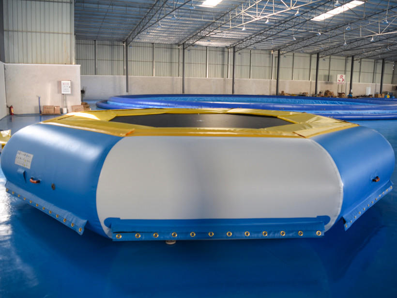 certificated inflatable floating water park ramp directly sale for adults