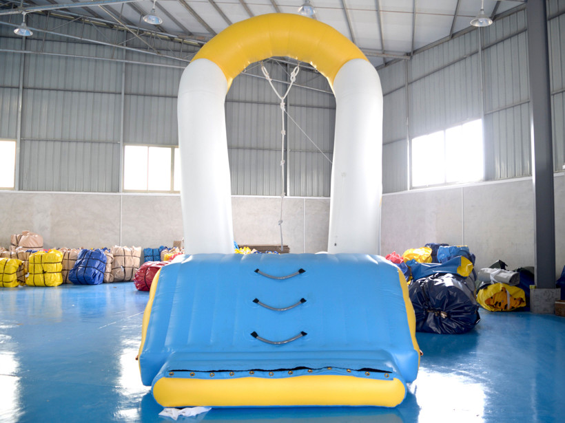 inflatable water swing