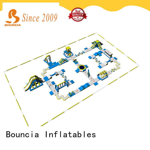 Bouncia tuv outdoor inflatable water park wholesale for adults
