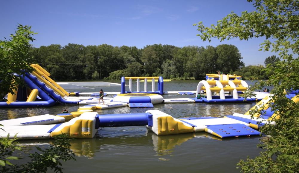 Inflatable Water Park Equipment For Wake Park