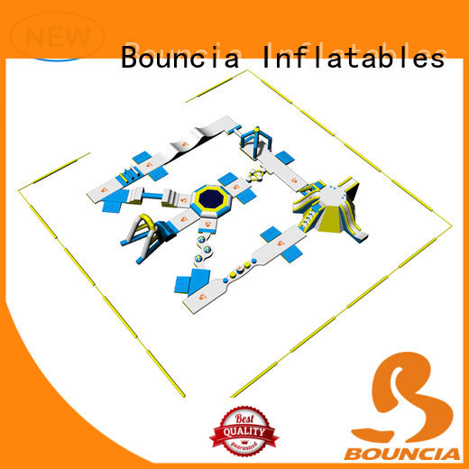 Bouncia open fun water parks wholesale for lake
