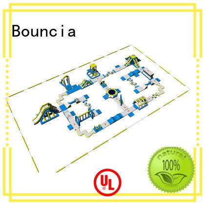 Bouncia games aqua fun park supplier for lake