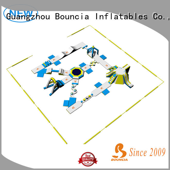 floating inflatable floating water park bouncia personalized for kids