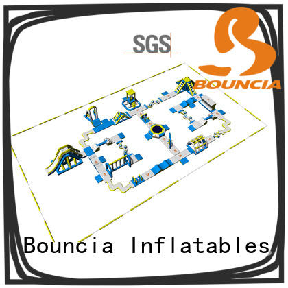 Bouncia toys inflatable water slide for lake factory price for lake
