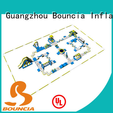 certificated inflatable floating water park games wholesale for kids