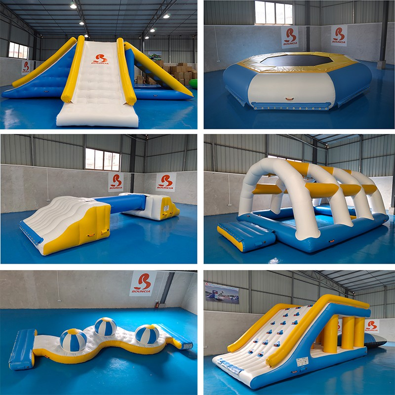 certificated inflatable park 100 people factory for adults-8