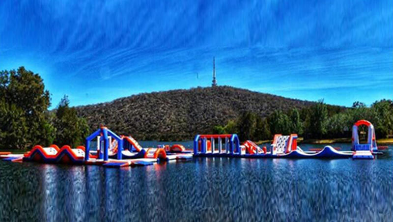 Exciting Floating Water park In Australia