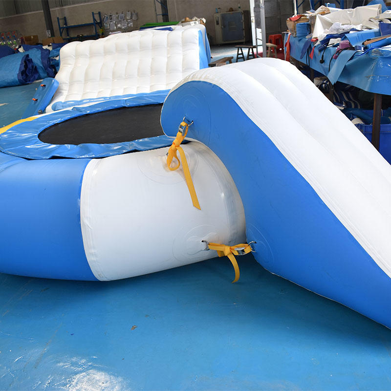 2020 Bouncia New Inflatable Trampoline Combo
