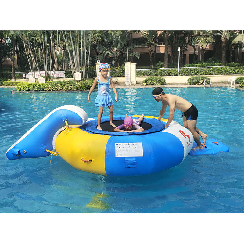 2020 Bouncia New Inflatable Trampoline Combo For Family Or Party