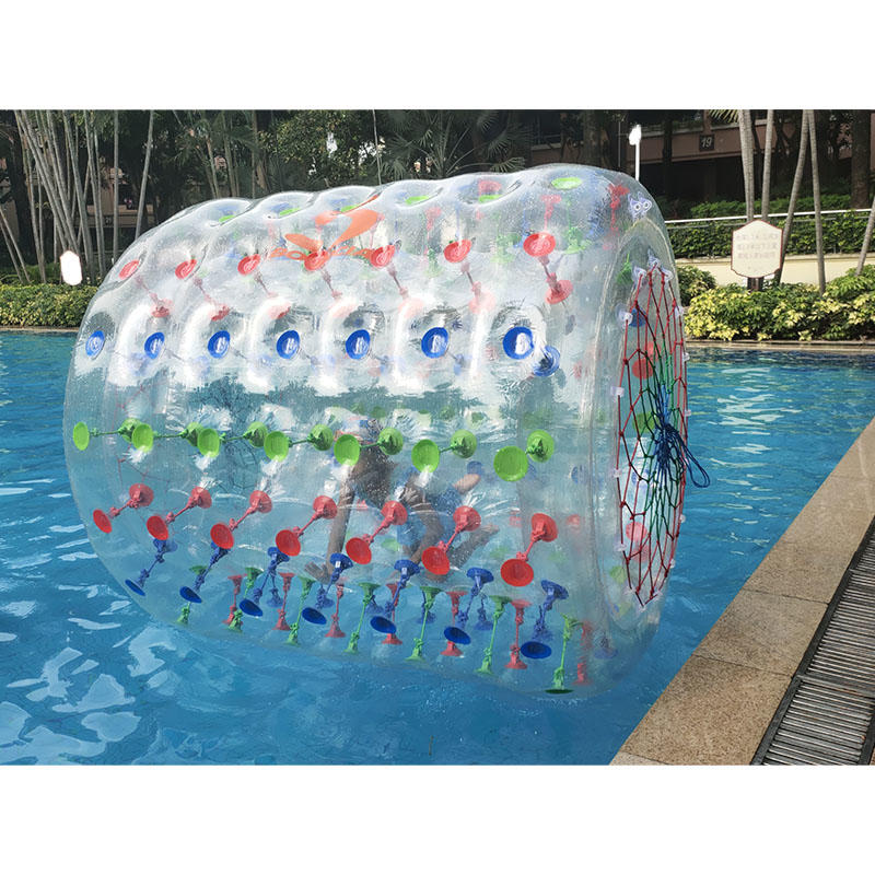 Exciting Inflatable Roller For Land And Water