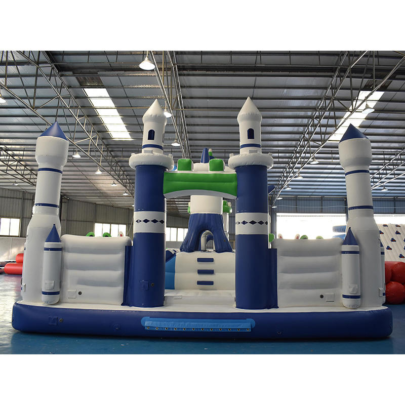 Bouncia New Inflatable Funcity With Water Park For Kids