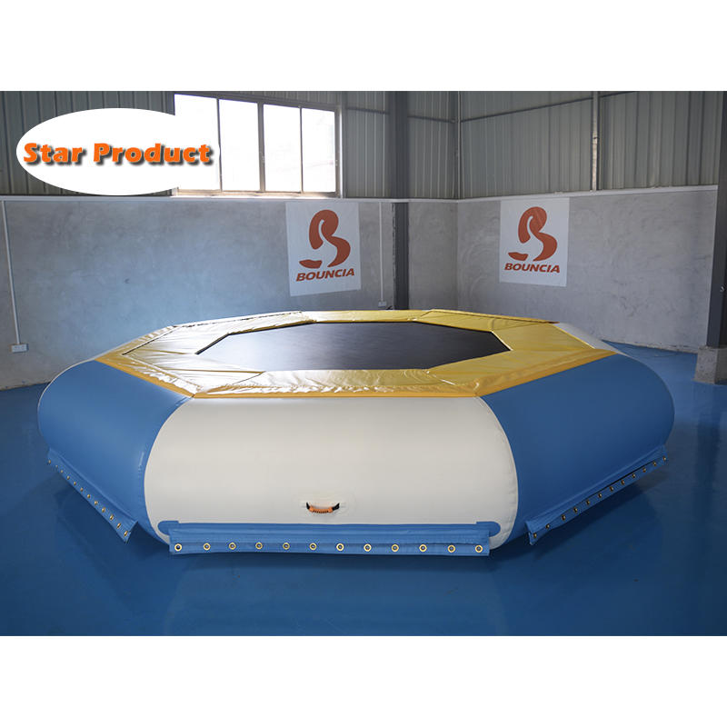 TUV Certified Inflatable Floating Water Trampoline For Sale