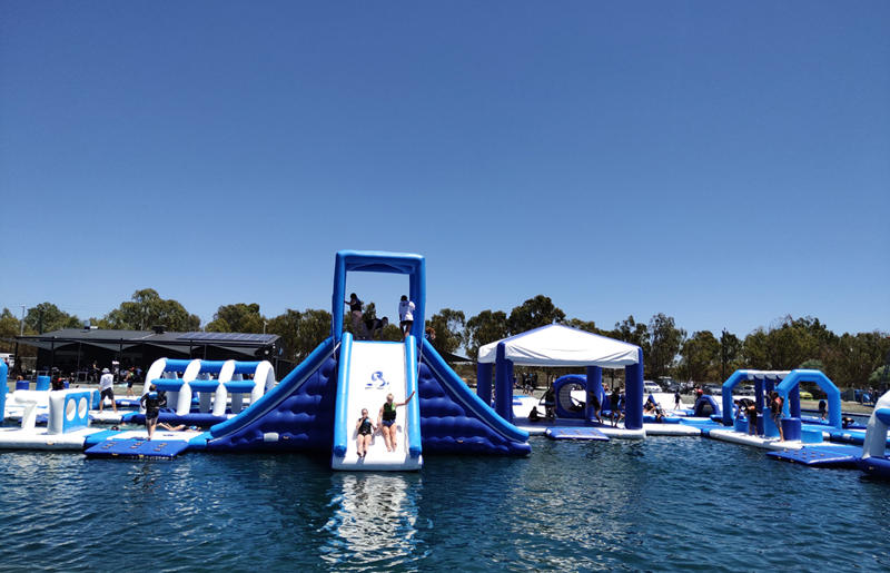 Free Customized Giant Inflatable Aqua Park for Lake