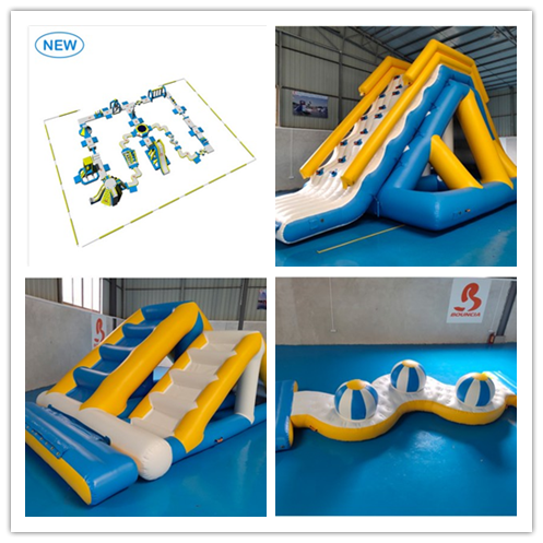 Bouncia -Blogpost-choosing The Right Inflatable Water Park