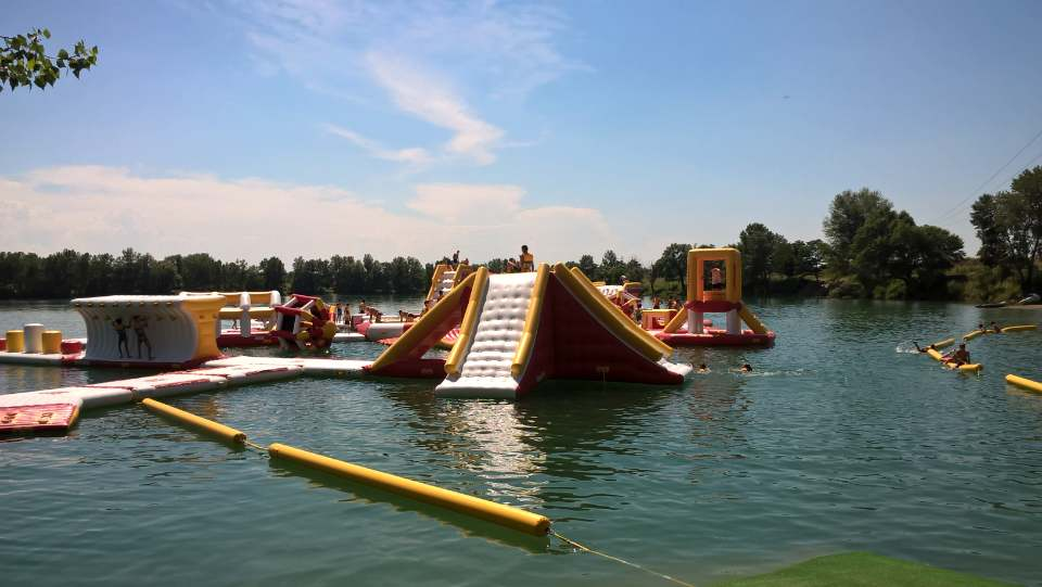 Bouncia -165 Capacity Floating Inflatable Water Park-26