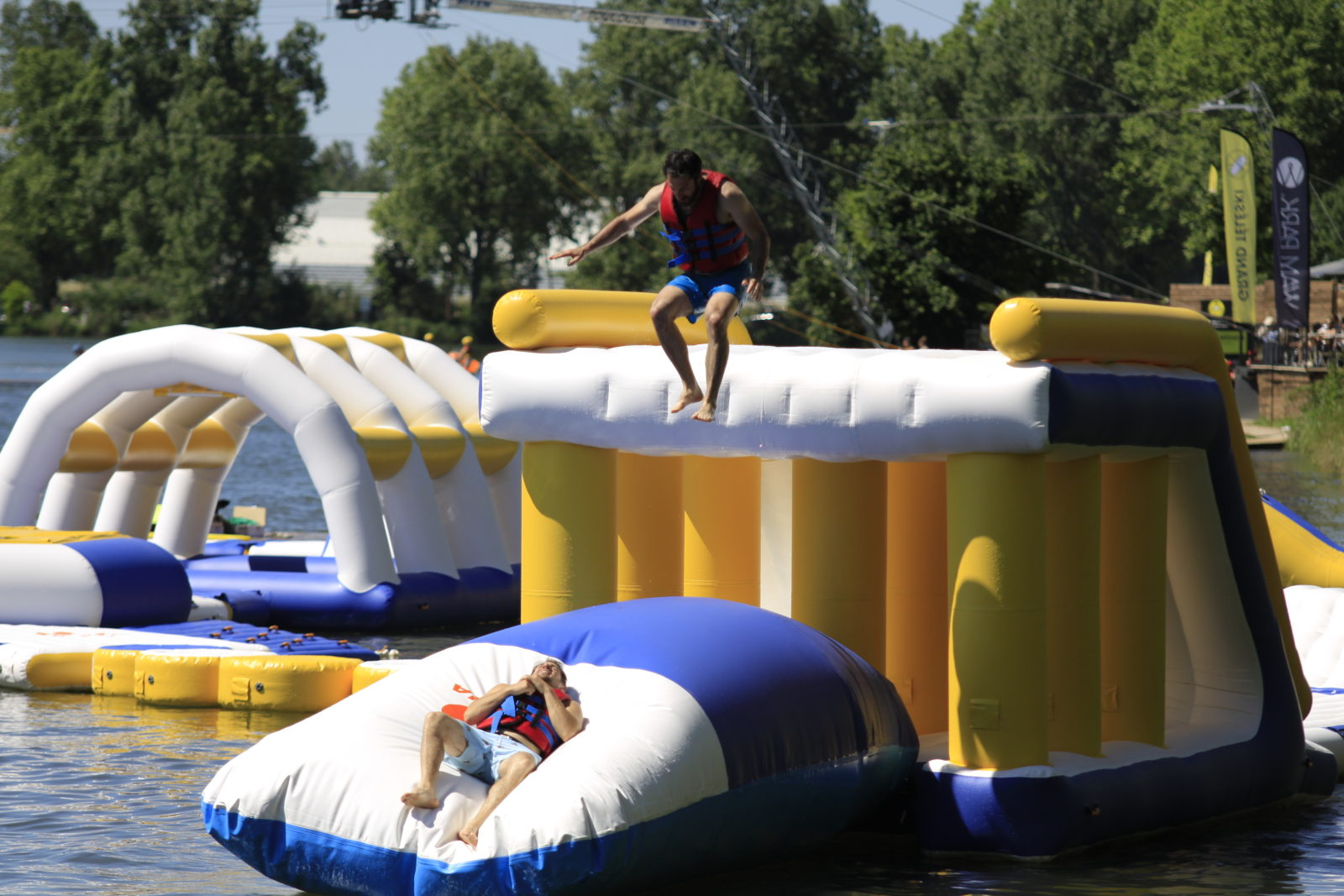 Bouncia -Inflatable Water Park Equipment For Wake Park-bouncia Inflatables-23