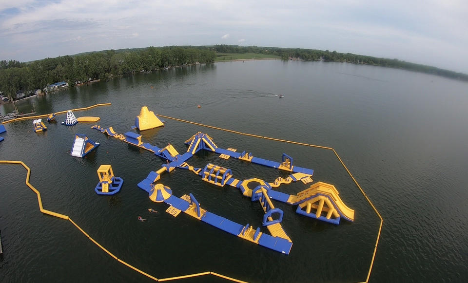 Custom Inflatable Commercial Water Park