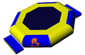 Bouncia -Bulk Inflatable Water Trampoline Manufacturer, Inflatable Water Slides-4