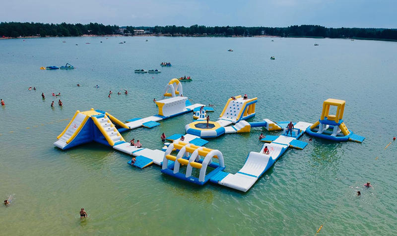 Aqua Park Inflatable Water Game