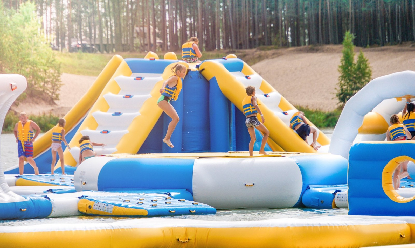 Bouncia -Aqua Park Inflatable Water Game-bouncia Inflatables-19