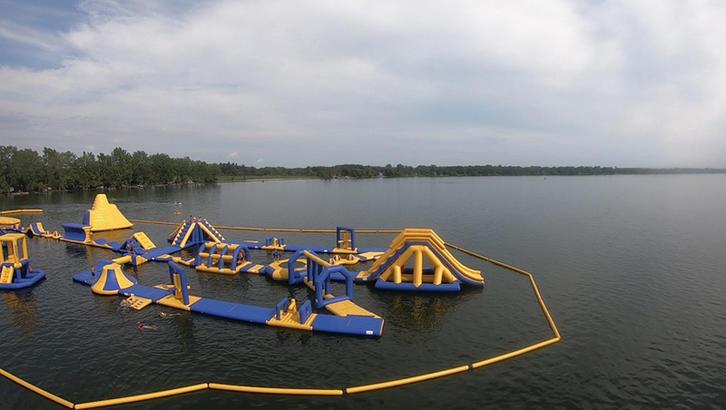 Ontario Inflatable Aqua Park