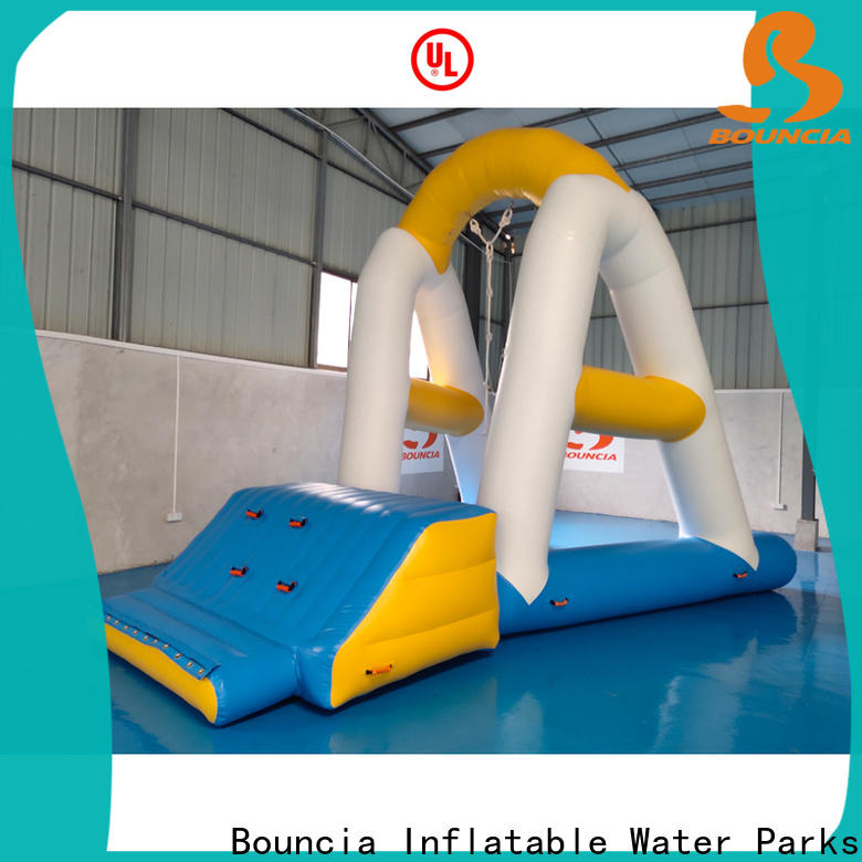 High-quality inflatable pool park slide factory for kids