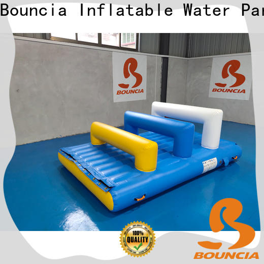 Bouncia grade inflatable water world factory for adults