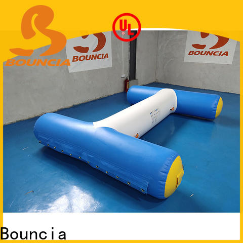 Bouncia one station inflatable floating playground manufacturer for pool