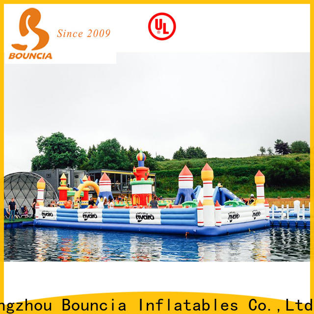 Bouncia aqua sports water park China for toddler