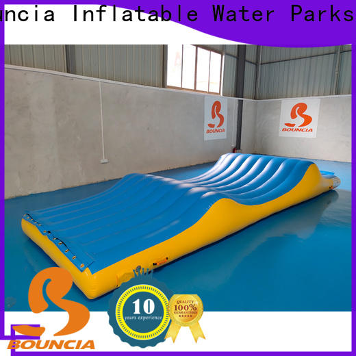 Bouncia one station world waterpark for outdoors