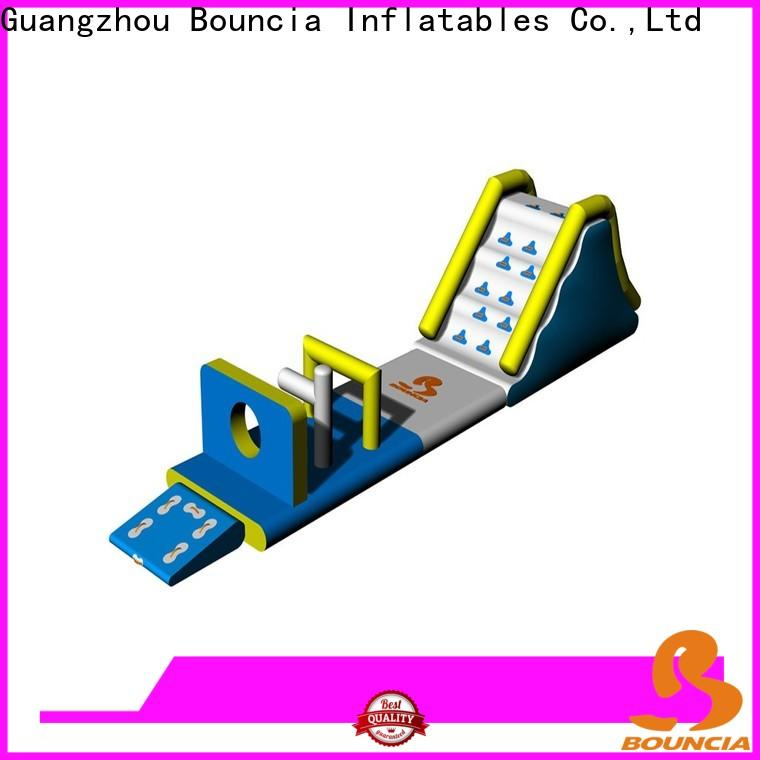 Wholesale inflatable water obstacle course slide company for outdoors