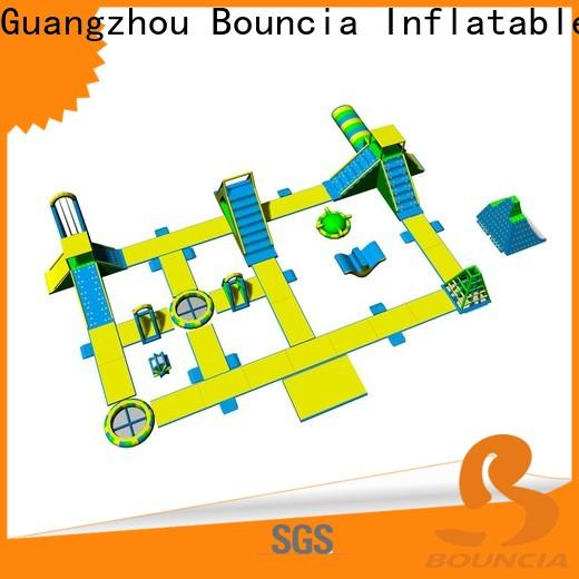 Bouncia New bounce inflatable theme park customized for lake