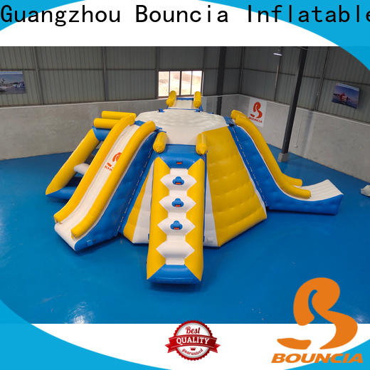 Bouncia pvc giant inflatable water slide factory for kids