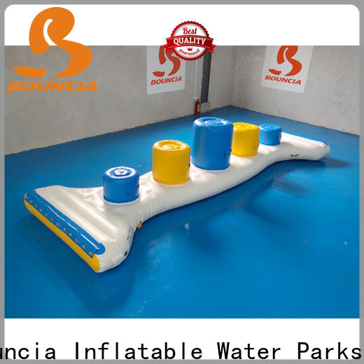 Bouncia floating inflatable water slide park from China for adults
