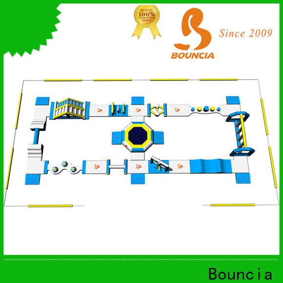 Bouncia certificated cool blow up water slides factory price for outdoors