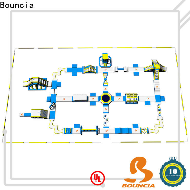 Bouncia New fun water parks for business for outdoors