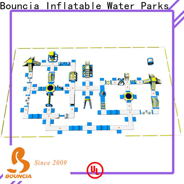 Bouncia Wholesale floating water park for sale customized for adults