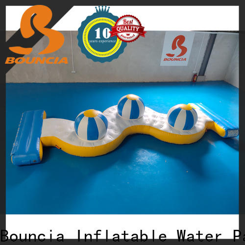 Bouncia climbing inflatable water park games for pool