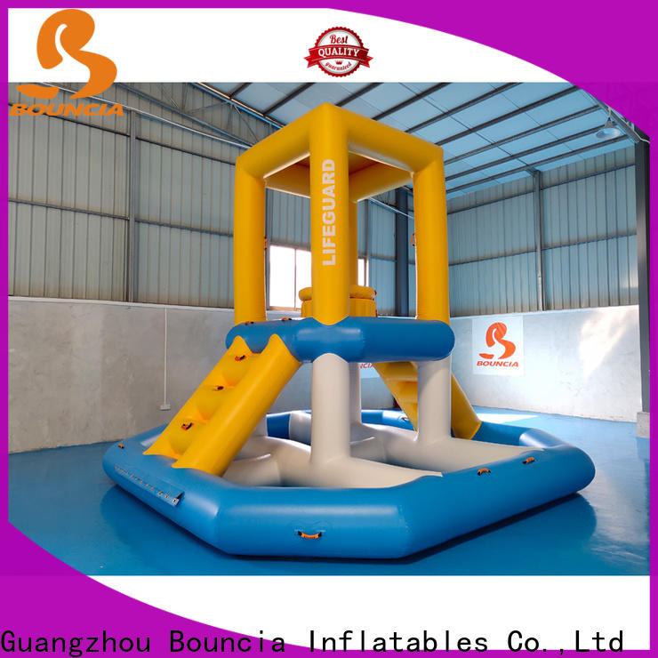 Bouncia High-quality inflatable backyard water park Supply for outdoors