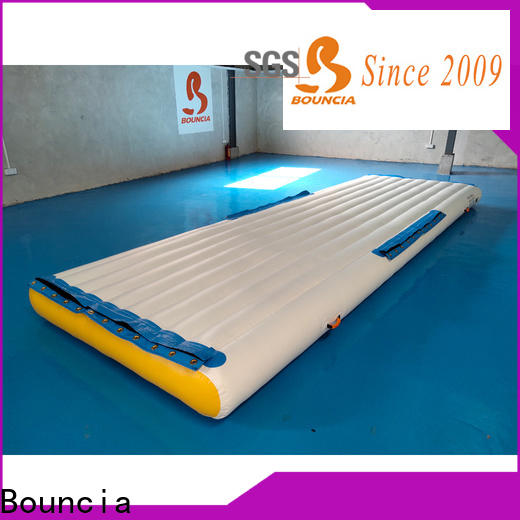 Bouncia jumping platform inflatable pool park Suppliers for kids