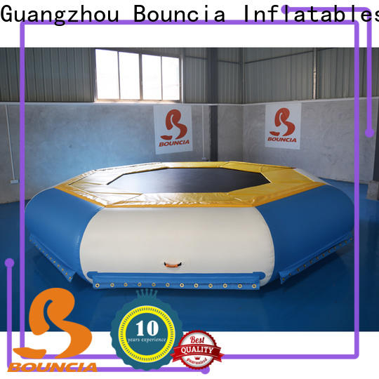 Bouncia durable inflatable floating water park customized for kids