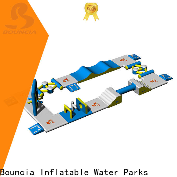 Bouncia slide inflatable water park games for business for pools