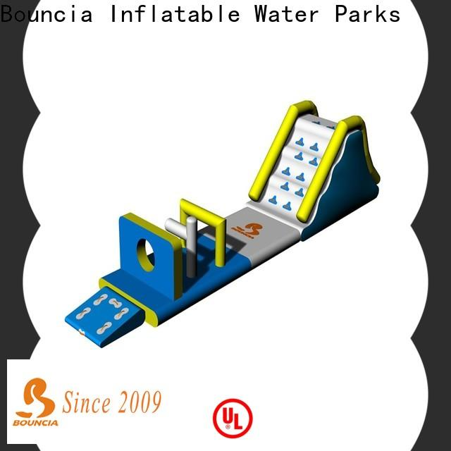 Bouncia course family land water park factory for pools