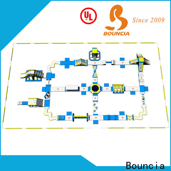 Bouncia bouncia outdoor inflatable water slide factory price for adults