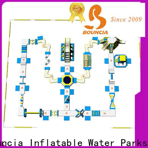 Bouncia lake inside water park wholesale for lake