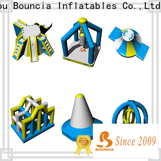 Bouncia equipment inflatable water slides for adults personalized for lake