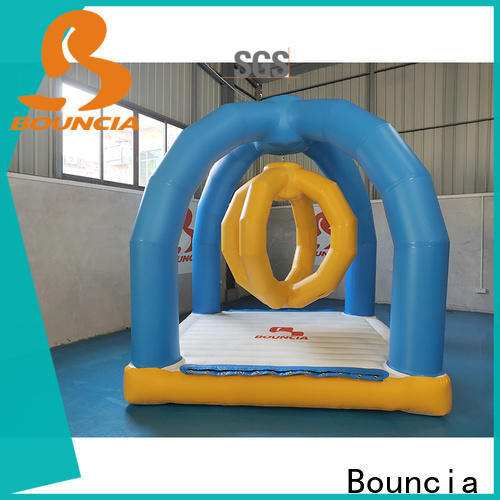 Bouncia jump inflatable backyard water park factory for outdoors